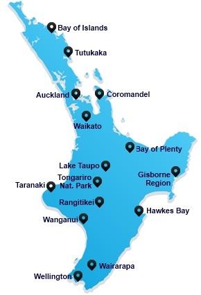 North Island - New Zealand